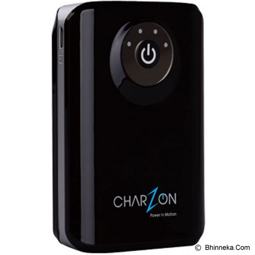 CHARZON Power Bank 8800mAh [CZ-8800] - Black - Portable Charger / Power Bank